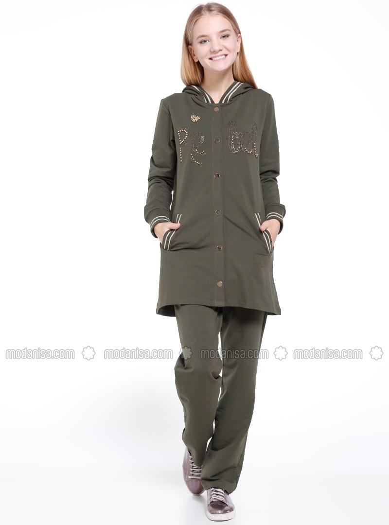 elegant shoes best deals on amazon Khaki - Trainingsanzug