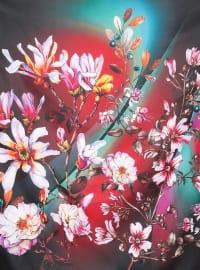 Multi - Floral - Scarf