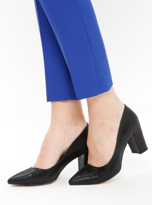 Black – High Heel – Shoes – Bambi