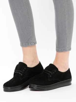 Black - Casual - Shoes - Bambi