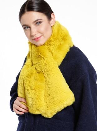Kürk Boyunluk - Sarı NW Accessory