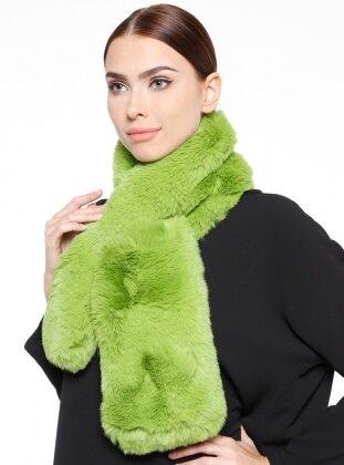 Kürk Boyunluk - Yeşil NW Accessory