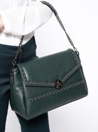 Çanta - Yeşil - Kayra