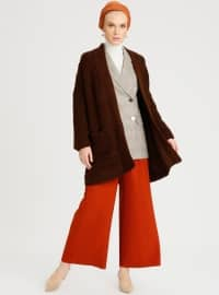 Refka Basic Pantolon - Kiremit - Refka