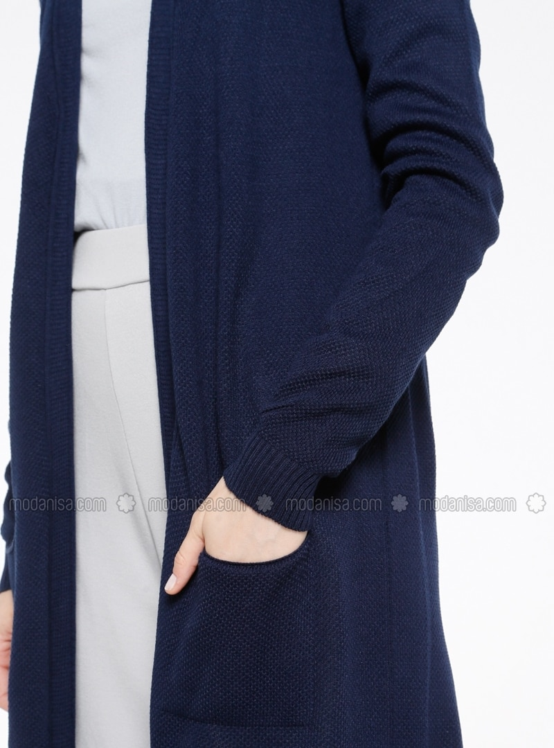 Blue - Cardigan - İLMEK TRİKO