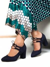 Topuklu Ayakkabı - Lacivert - Ayakkabı Havuzu