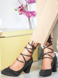 Topuklu Ayakkabı - Füme - Ayakkabı Havuzu