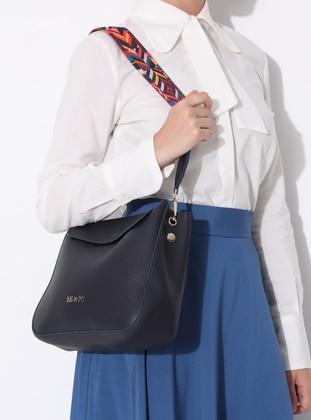 Navy Blue - Crossbody - Bag