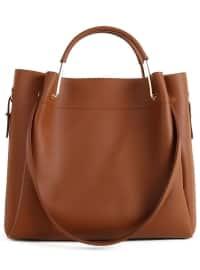 Tan - Satchel - Bag