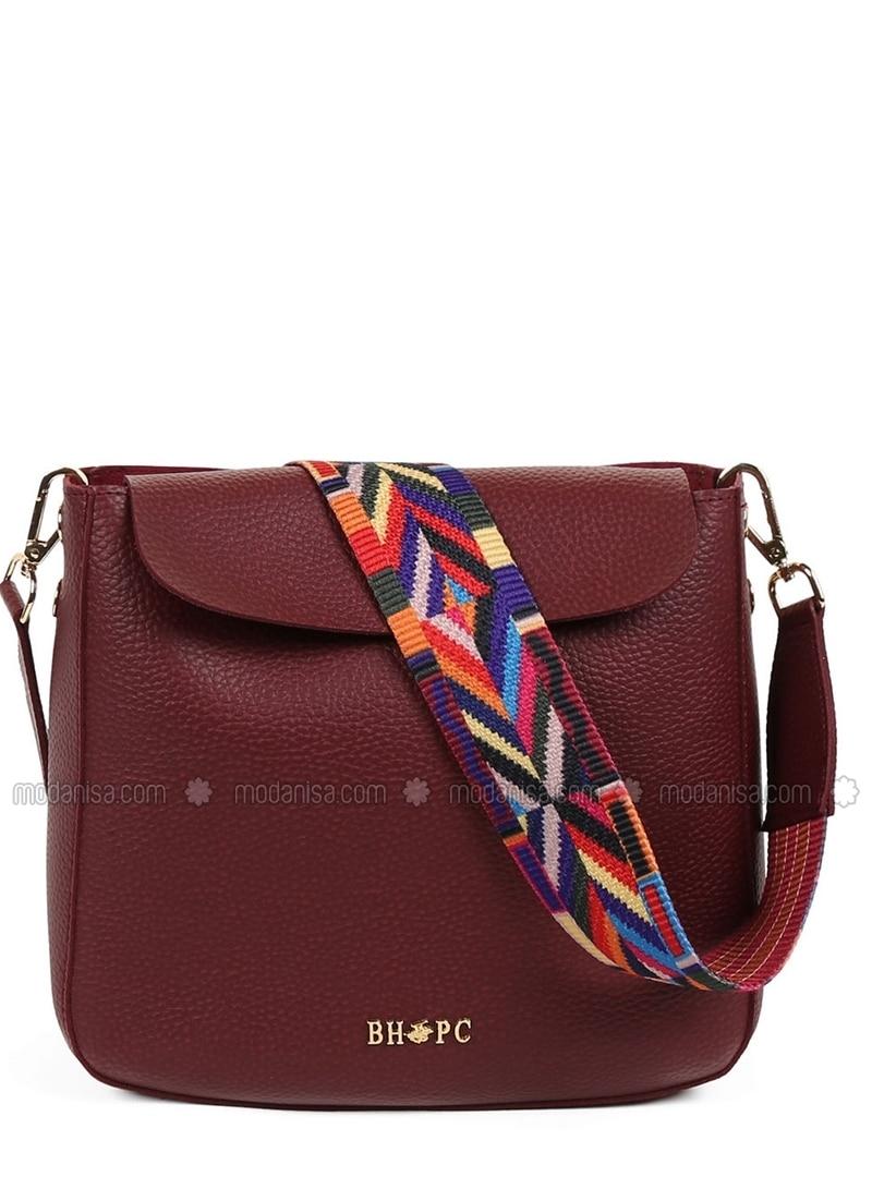 Maroon - Crossbody - Bag