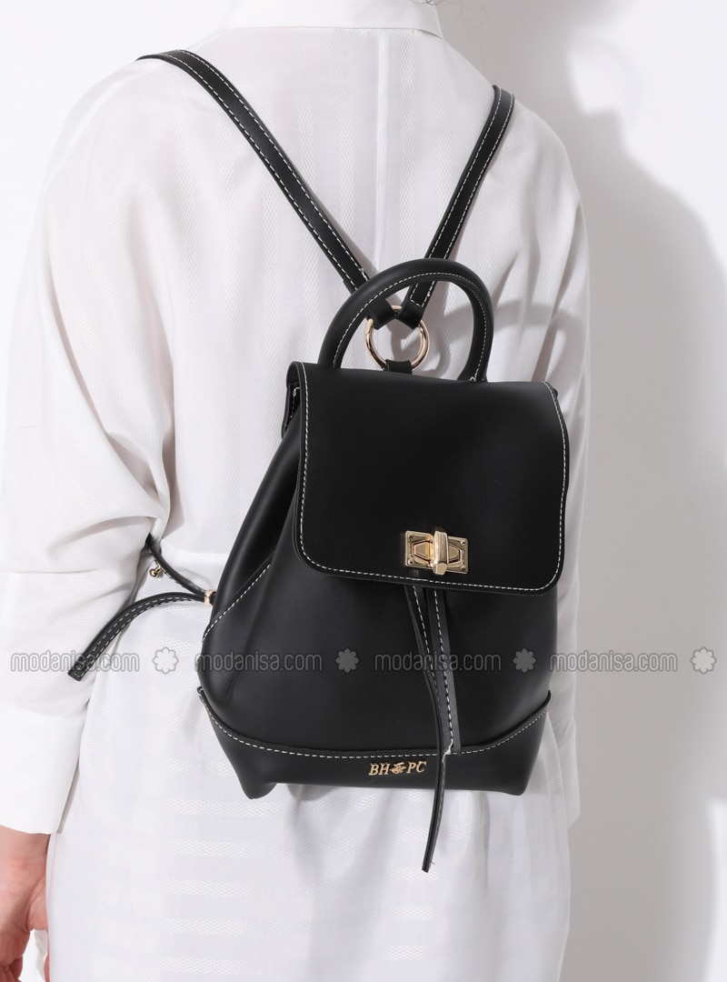Black - Backpack - Bag