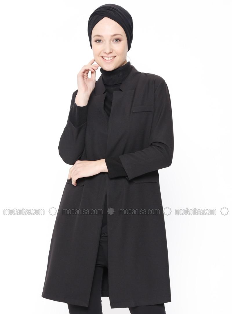 Black - Unlined - Jacket