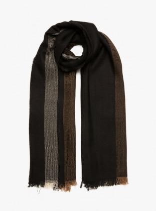 Omuz Şalı - Siyah - Koton Ürün Resmi