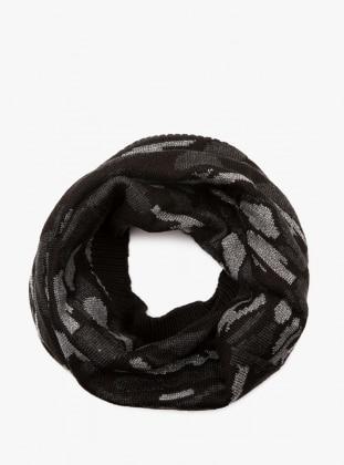 Boyunluk - Siyah Koton