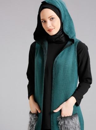 Green - Vest - Refka