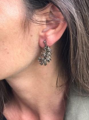 Black – Earring – No19Istanbul