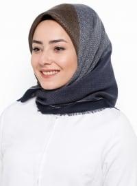 Karaca Yün Eşarp - Karışık Desenli - Karaca Eşarp