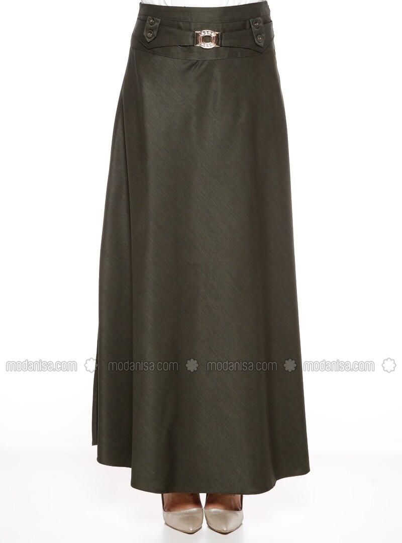 khaki half lined skirt b 220 r 220 n