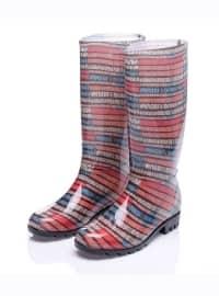 Çizme - Karışık Renkli - Just Shoes
