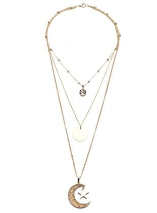 Golden tone - Necklace - Modex