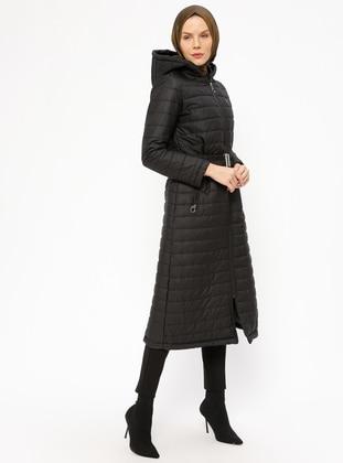 Fully Lined - Black - Coat