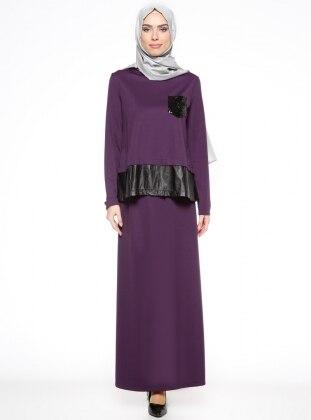 Unlined - Purple - Suit