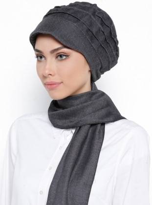 Black - Instant Scarf