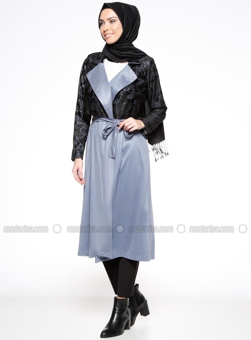 Shawl Collar - Unlined - Blue - Topcoat