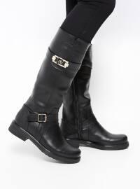 Çizme - Siyah - Pierre Cardin