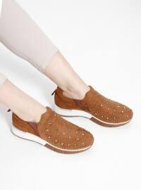 Ayakkabı - Taba - Pierre Cardin