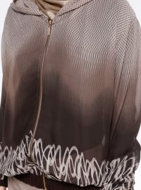 Brown - Multi - Unlined - Jacket