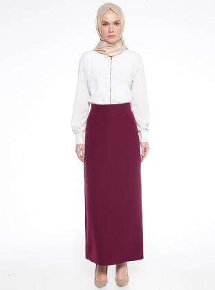 Purple - Unlined - Skirt