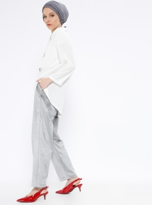Gray – Pants – Peramood