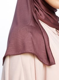 Plum- Plain - Pinless - Viscose - Sunshine Shawl