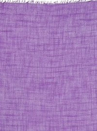 Viscose - Plain - Purple - Scarf