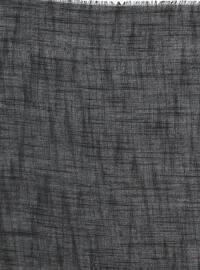 Viscose - Plain - Black - Scarf