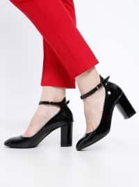 Topuklu Ayakkabı- Siyah - Pierre Cardin