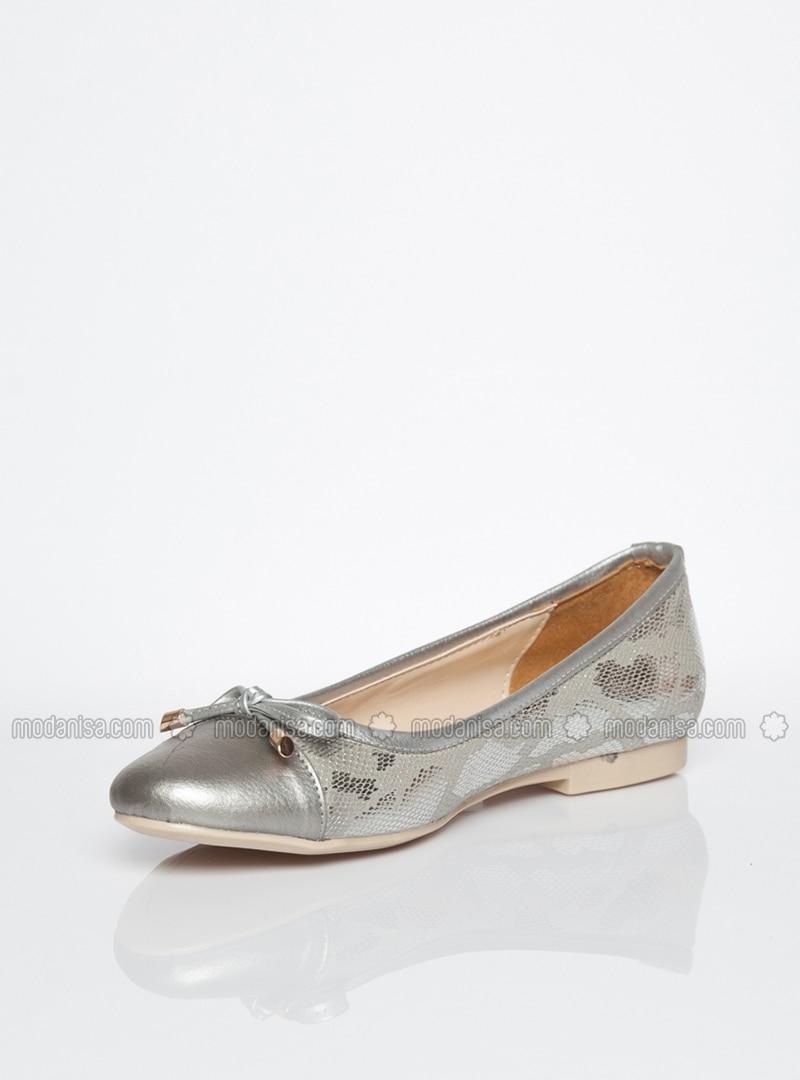 online retailer f6b5f d19d3 Silberfarben - Ballerinas - Ballerina