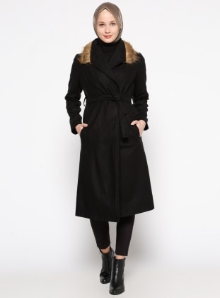 Black - Unlined - Topcoat