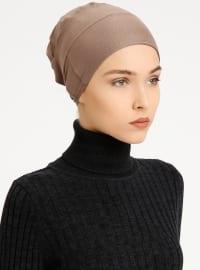 Combed Cotton - Lace up - Minc - Bonnet - Tuva Şal