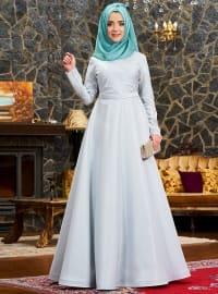 Uyum Abiye Elbise - Mint - Mevra