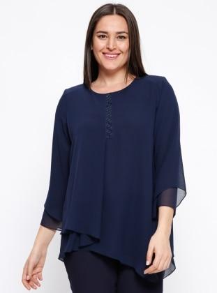 muslim plus size blouse /shirt models - modanisa