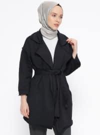 Shawl Collar - Unlined - Black - Jacket