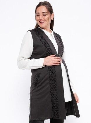 Black – Maternity Vest – Neslihan