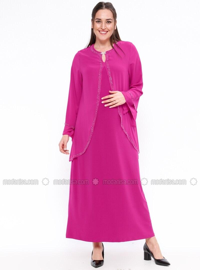 Unlined crew neck maternity evening dress neslihan pink unlined crew neck maternity evening dress neslihan ombrellifo Images
