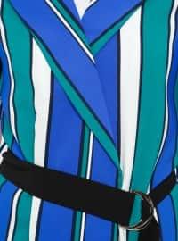 Saxe - Stripe - Shawl Collar - Unlined - Jacket