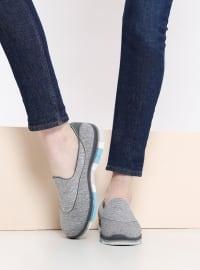 Spor Ayakkabı - Gri - Skechers