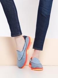 Spor Ayakkabı - Mavi- Skechers