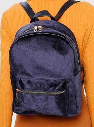 Navy Blue - Backpack - Bag - PNK