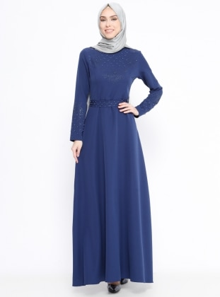 Saxe - Crew neck - Fully Lined - Dresses